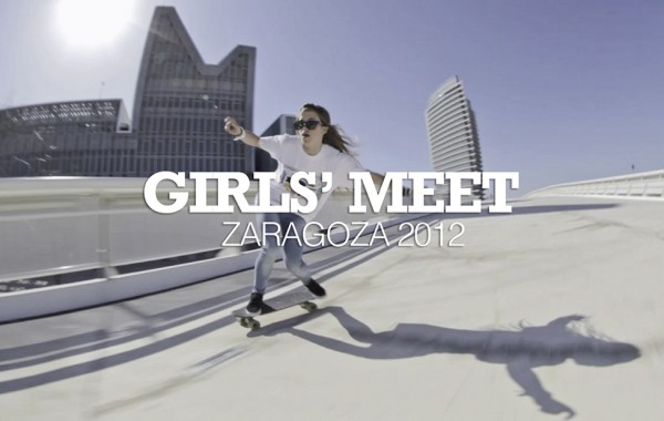 Girl´s Meet   ZGZ 2012 – Longboard girls crew